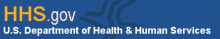 HHS.gov logo.  EHR Usability testing for Meaningful Use. Consutants