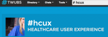 Healthcare User Experience Tweet Chat