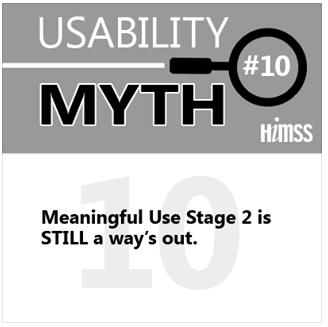Top 10 EHR Usability Myths - Debunked