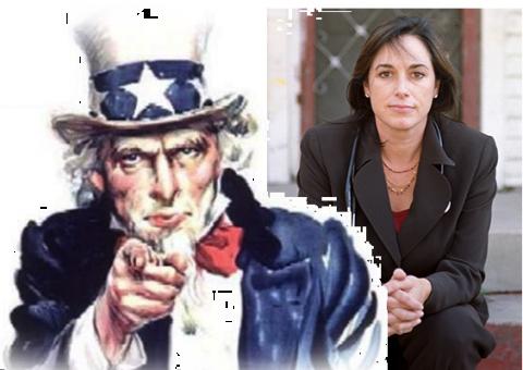 Uncle Sam and Karen DeSalvo
