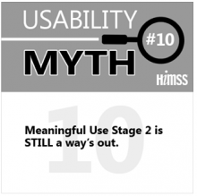Top 10 EHR Usability Myths - Debunked